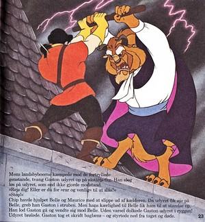 Walt Disney Book afbeeldingen - Gaston & The Beast