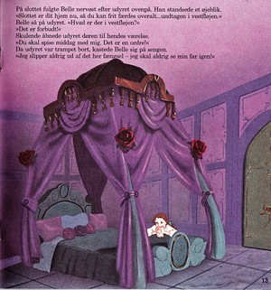 Walt disney Book gambar - Princess Belle