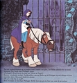 Walt ডিজনি Book প্রতিমূর্তি - Princess Belle & Phillipe