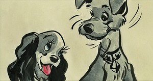 Walt Disney Sketches - Lady & The Tramp