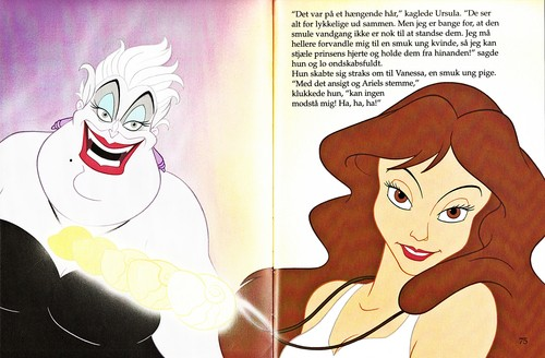 Walt Disney Book Images - Ursula & Vanessa - walt-disney-characters Photo
