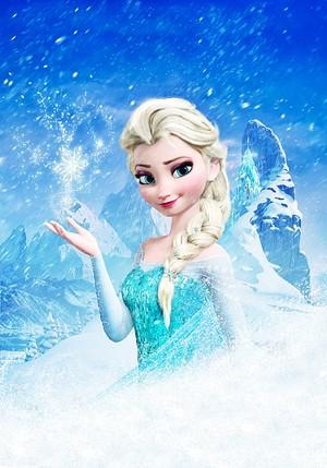 Walt ディズニー Posters - クイーン Elsa