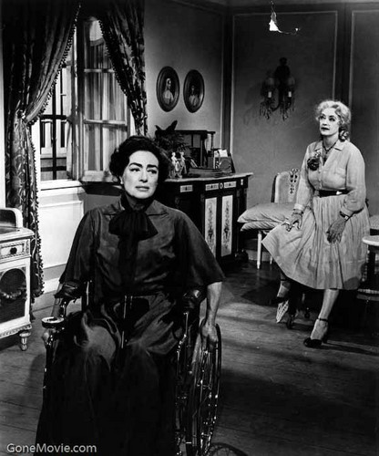 What Ever Happened to Baby Jane? wallpaper possibly with a street entitled Blanche and Jane Hudson