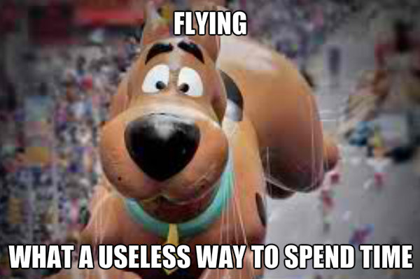 What Scooby is thinking