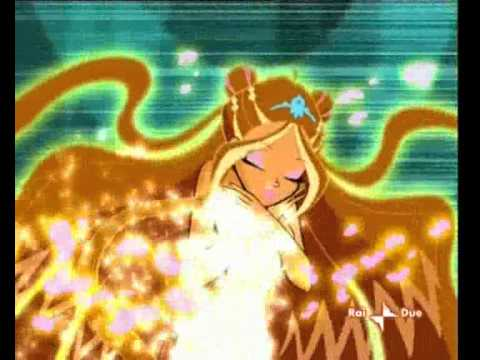 Winx Club Flora kertas dinding possibly with Anime called Enchantix