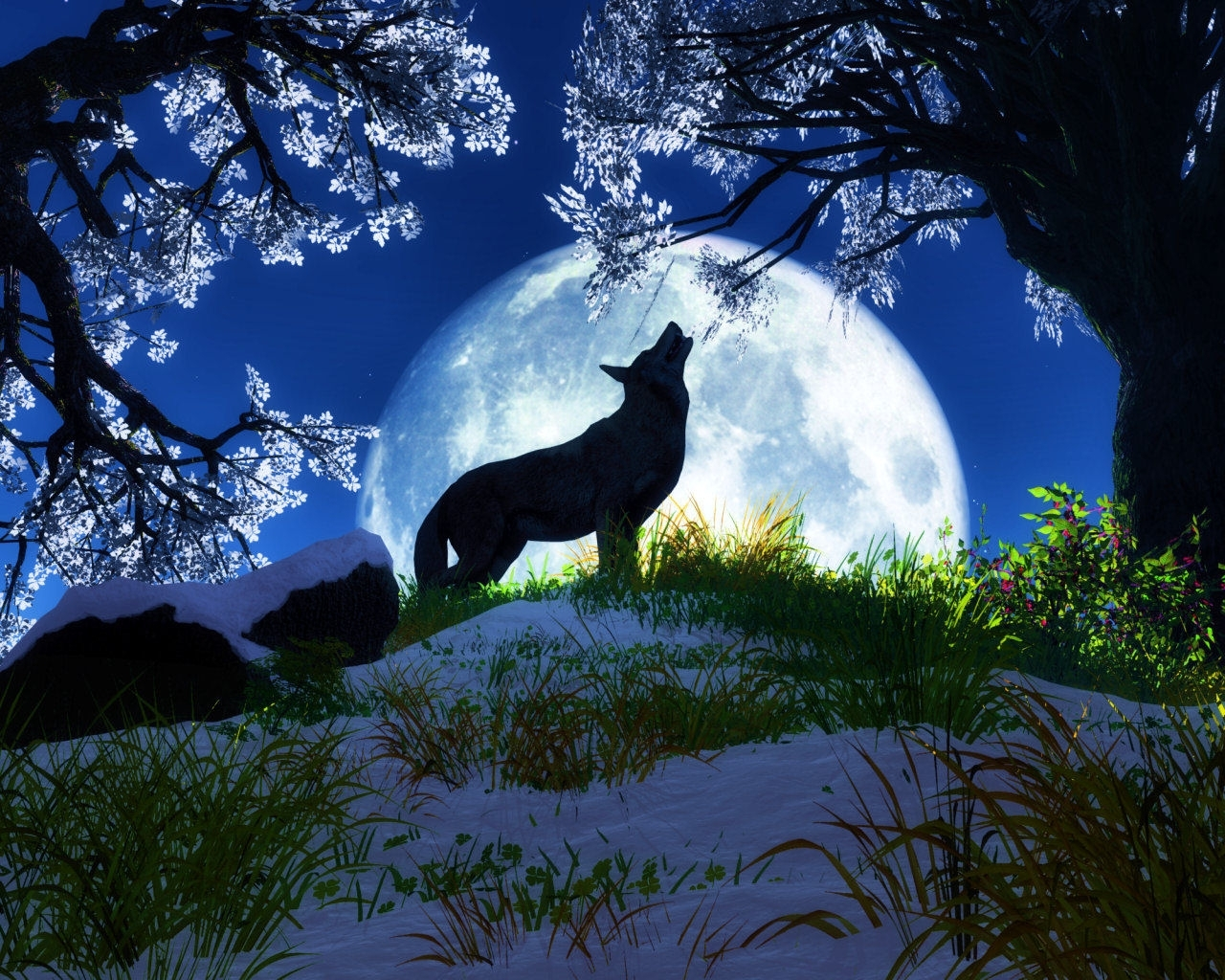 Wonderful art - Wolves Photo (36367702) - Fanpop