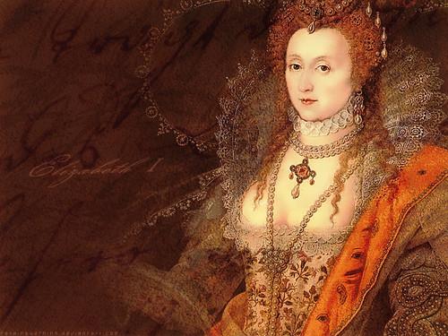 Women in History वॉलपेपर called क्वीन Elizabeth I