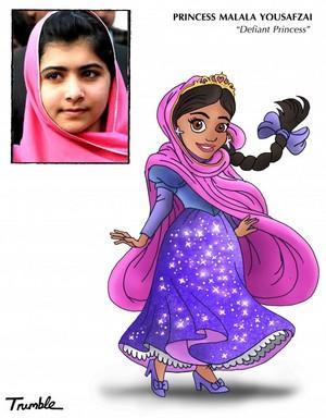 Malala Yousafzai - Defiant Princess