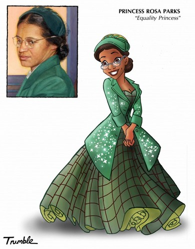 Women in History wallpaper titled Rosa Parks - Equality Princess