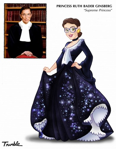Women in History wallpaper entitled Ruth Bader Ginsberg - Supreme Princess