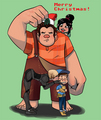 Wreck-It Ralph - wreck-it-ralph fan art