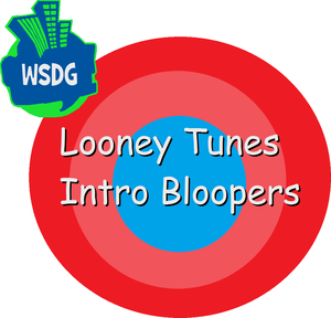 Looney Tunes Intro Bloopers Logo With The WSDG 2004-2008 Logo