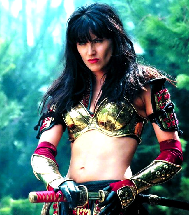 remastered xena poster