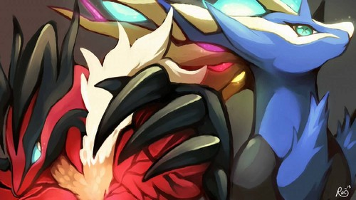 Xerneas, Yveltal, and Zygarde images X znd Y HD wallpaper ... Xerneas Yveltal Zygarde Wallpaper