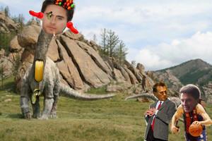 Letosaur with Rob the kacang and Barrowfucka!