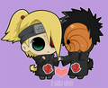 Deidara and Tobi! - yaoi photo