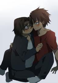 Kouta X Takashi (Highschool OF The Dead)
