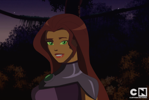 Young Justice karatasi la kupamba ukuta probably with anime called young justice starfire