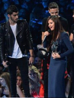 Zayn Malik and Selena Gomez