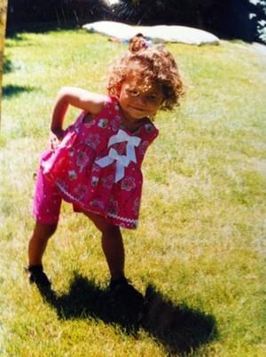 Zendaya As A Baby