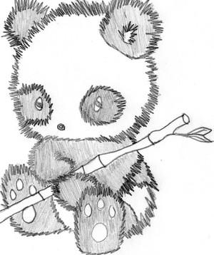 Drawing A Panda