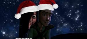 Violet/Hiccup Krismas