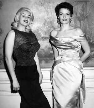 jane mansfield and jane russel