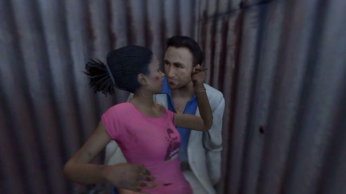 Left 4 Dead 2(レフト フォー デッド 2) 壁紙 titled Nick and Rochelle