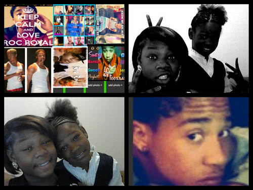 Roc Royal (Mindless Behavior) wallpaper possibly containing a stained glass window and anime titled me and my boo