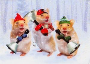 仓鼠 圣诞节