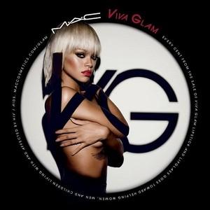 new campaign image for Rihanna's VIVAGLAM lipstick