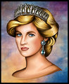 princess of wales - princess-diana fan art
