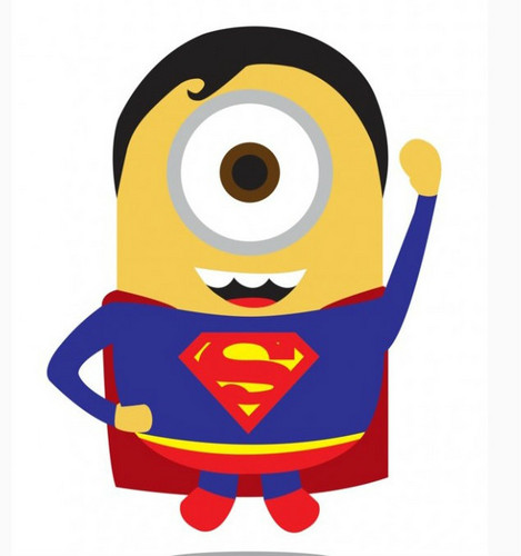 Despicable Me Minions wallpaper entitled superman minion