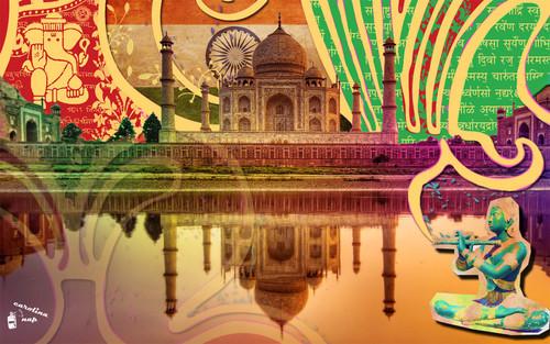 taj mahal wallpaper possibly containing a street titled taj mahal