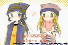 Kozumi blushing with amor