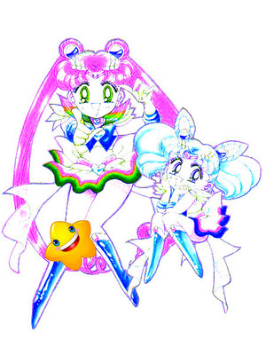 tulula's sister turned into a sailor scout!
