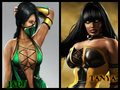 whos better? - mortal-kombat fan art