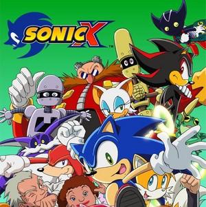 sonic the hedgehog x