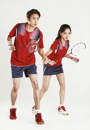 Nickhun for sport brand 'YONEX'
