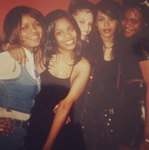 Fotos gepostet on Instagram/Twitter on Aaliyah's 35th Birthday! [January 16th]
