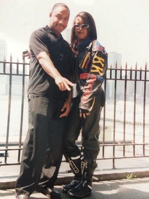 picha ilitumwa on Instagram/Twitter on Aaliyah's 35th Birthday! [January 16th]
