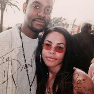 foto diposting on Instagram/Twitter on Aaliyah's 35th Birthday! [January 16th]