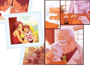 Ace's Grandfather Garp