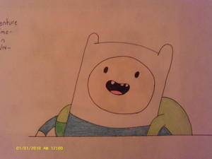 My Drawing of-Adventure Time:Finn