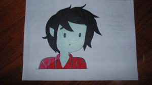 My Drawing Of-Adventure Time:Marshall Lee