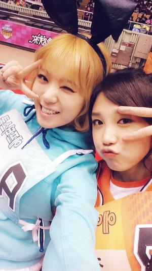 A Pink's Eunji | After School's Lizzy