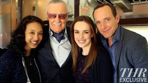 Stan Lee & SHIELD Cast