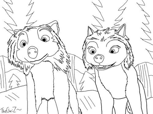 Alpha and Omega پیپر وال titled HxK Sketch