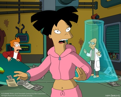wong Futurama anime amy