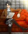 Levi Heichou - anime fan art